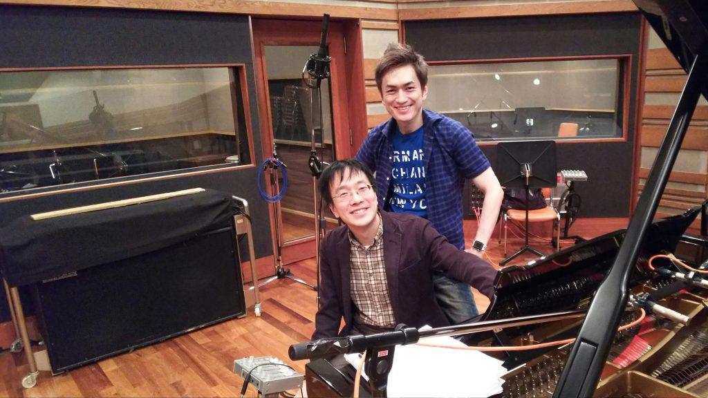 椎名豪さんのレコーディングに参加した話