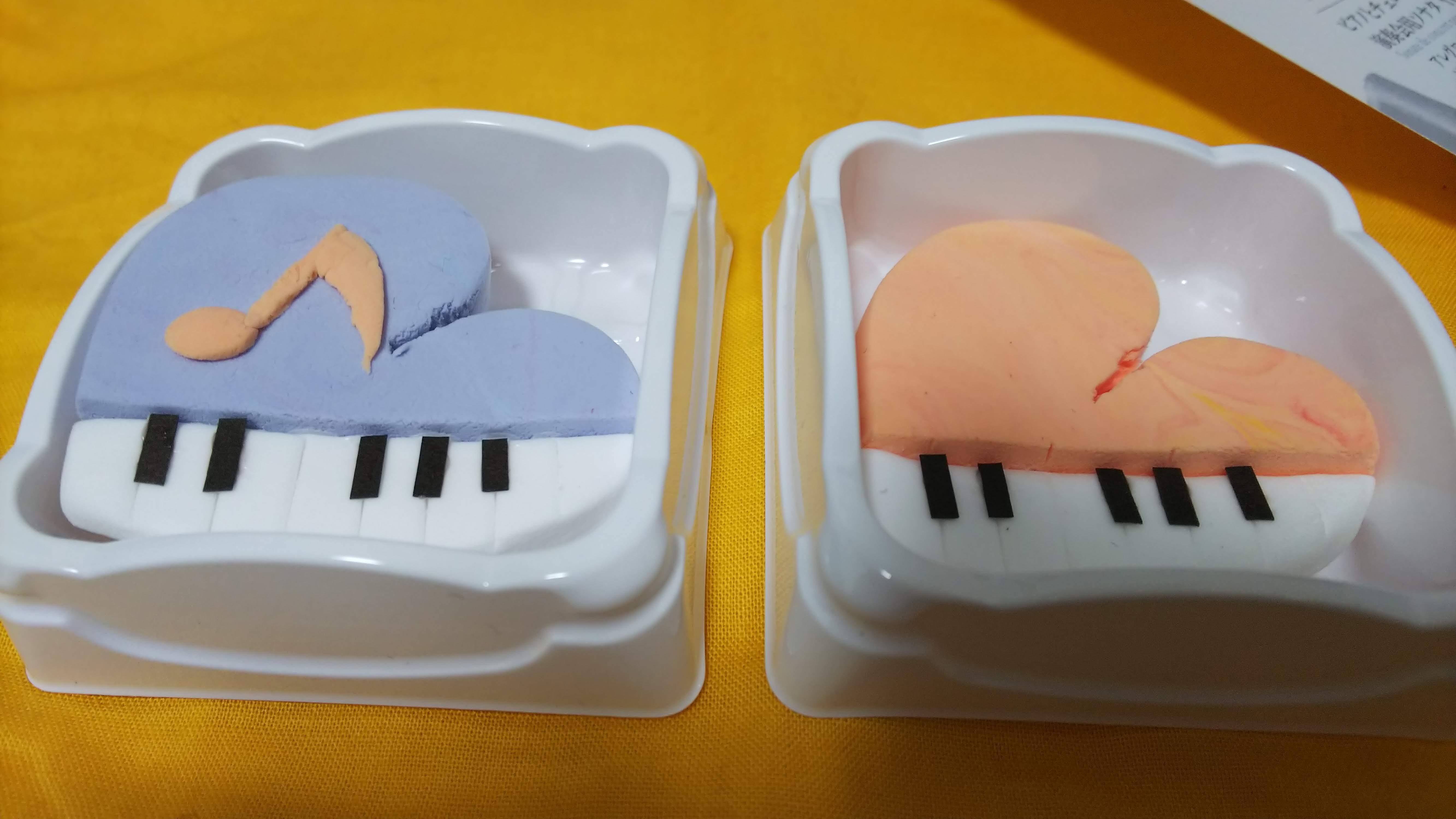 ねんドルひとみ先生に教わって作ったピアノ
